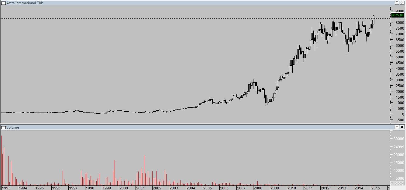 Pemindaian volume opsi saham